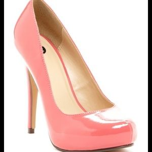 M by Michael Antonio Coral Love Me Patent Pump